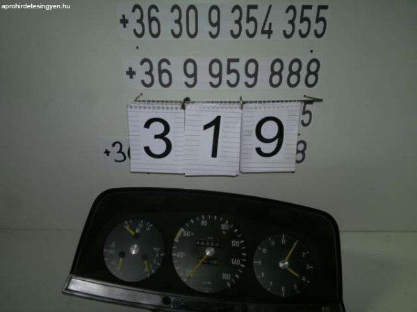 Mercedes 124-es műszerfal