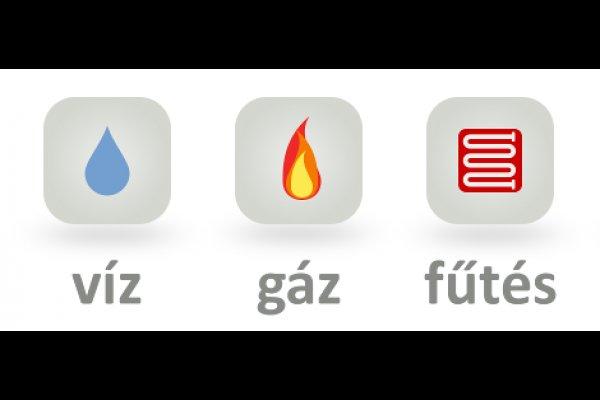 Víz-gáz-fűtésszerelő állás