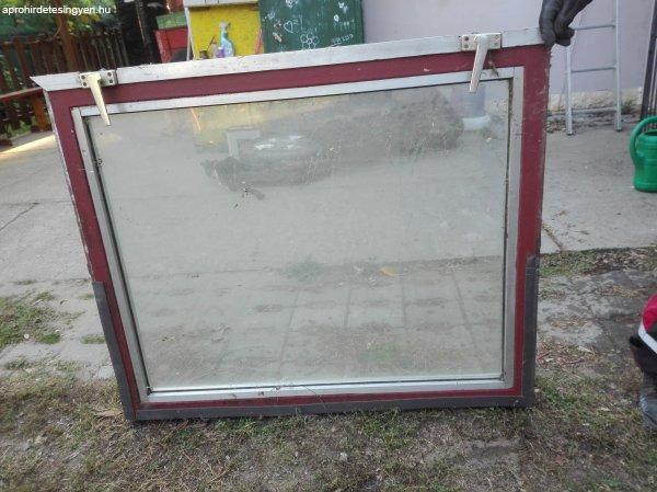 Bontott vas,dupla üveges terasz ablak ELADÓ!!