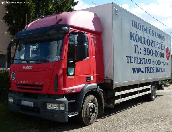 Minőségi költöztetés, szakszerű bútorszállítás! 061 390 0000