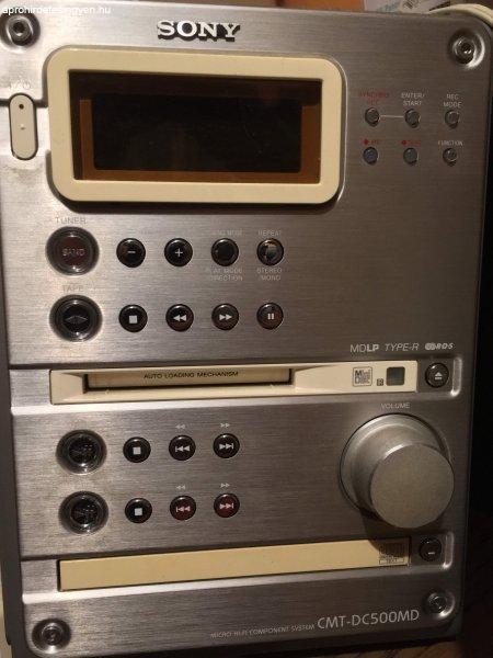 Különlegesség! Minidisc-s Sony HCD-J300 HiFi eladó