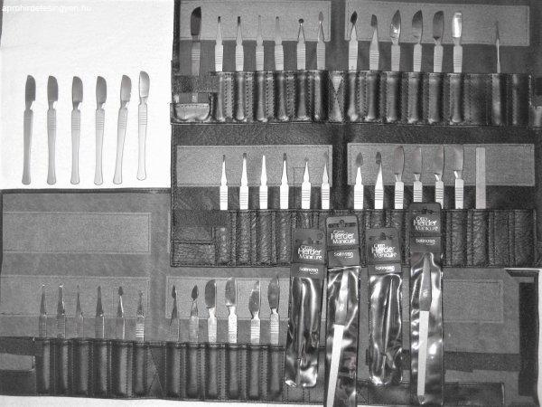 Új, fém profi pedikűr eszközök eladók
