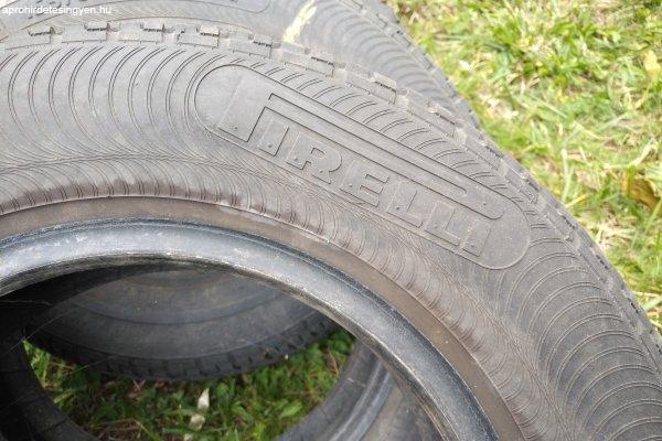 4 db alig használt téligumi eladó 155/80 R13 Pirelli