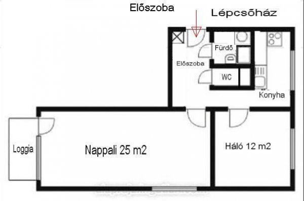 Százhalombattán lakótelepi lakás eladó