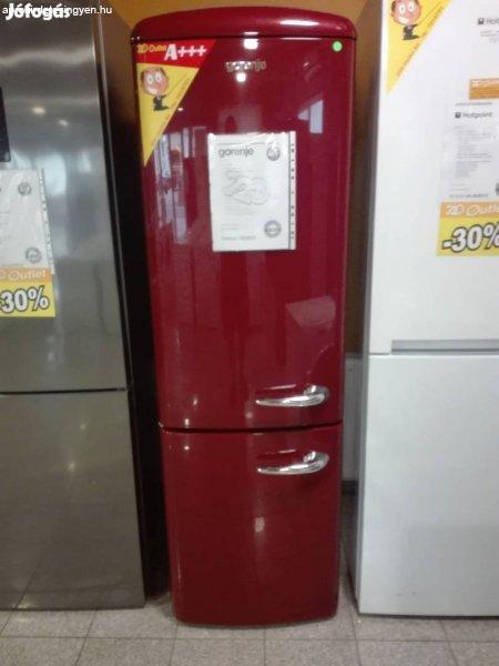 Gorenje ORK192R Old Timer bordó kombinált hűtő