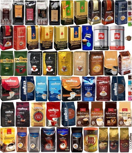 Kávétermékek gyors kiszállítással