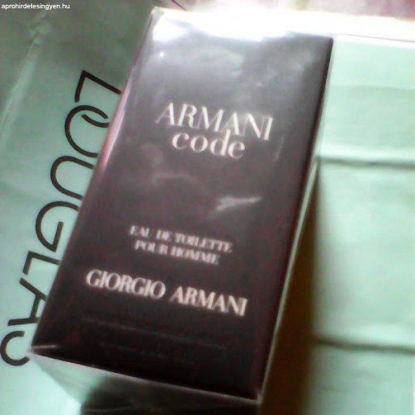 armani code pour homme 30ml    (eredeti,új)