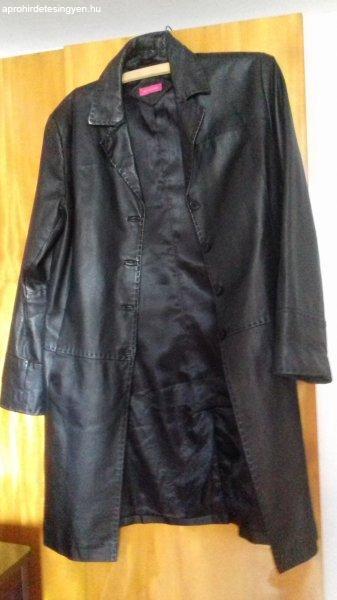 Eredeti női bőr kabát 42 es