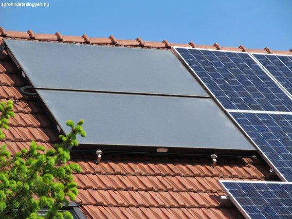 Napelemes rendszer +energiatakarékos fűtőpanel= 0 csekk