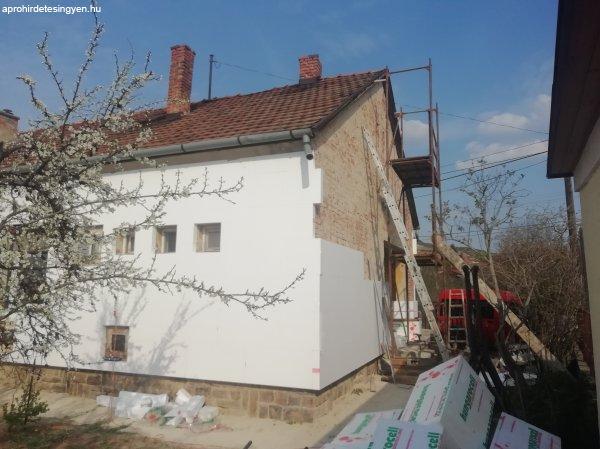 Épületfelújítás szigetelés kőműves munkák