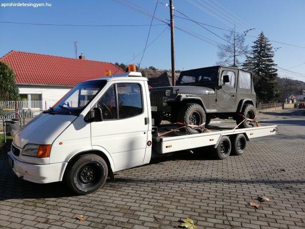 Autómentés Komárom-Esztergom megye.