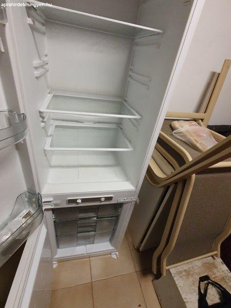 kombinált hűtő, beépíthető