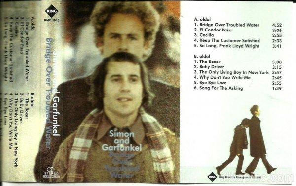 Simon and Garfunkel-Bridge Over Troubled Water-hangkazetta