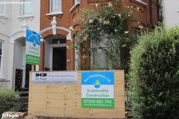 Angliai Építőipari munka hosszú távon