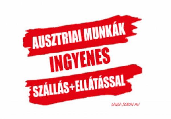 Ausztriai, németországi munkalehetőségek!