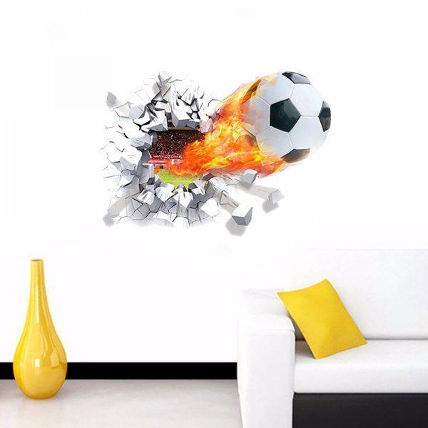 Óriás foci labda / futball/labdarúgás gyerekszoba falmatrica