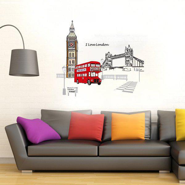 Londoni közlekedés falmatrica