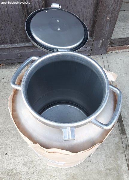 Új alumínium tejeskanna 10-40 liter