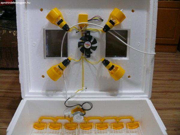 Tojás keltető gép (Teljesen AUTOMATA, digitális)