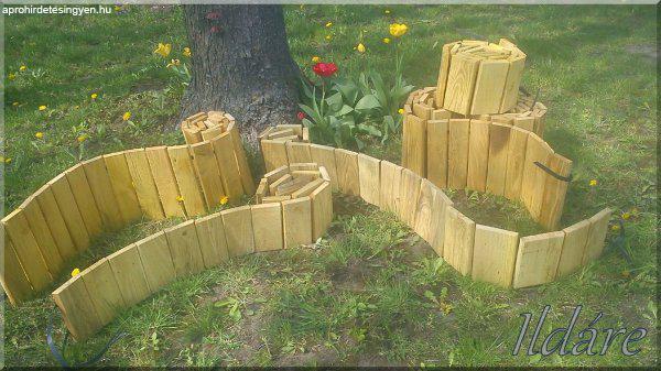 Ágyásszegélyek, kerti szegélyek!