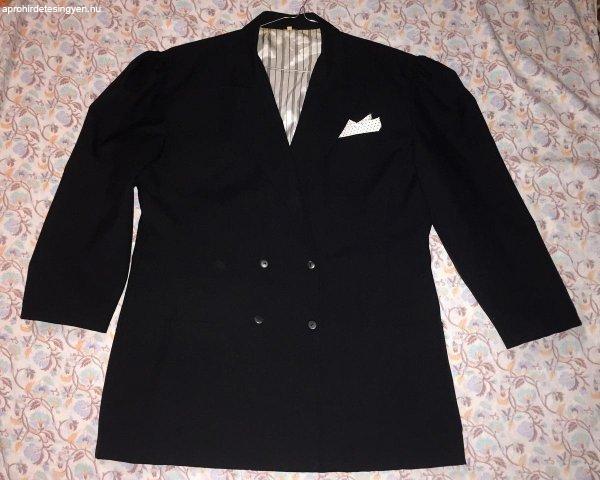 Fekete blézer kabát - dzseki - zakó - 44-es
