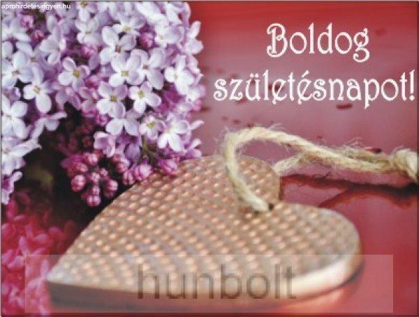 Orgonás Boldog születésnapot! hűtőmágnes (6,7 x 5,3 cm), 3.s