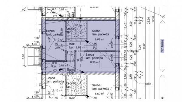 Tököl, 87 m2, 27900000 HUF, 1 szoba, 3 félszoba [4300_415]