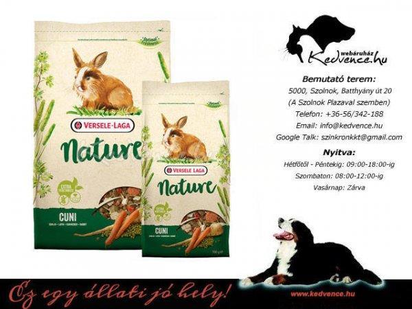 Versele-Laga Törpenyúl Eledel Cuni Rabbit Nature 2,3kg