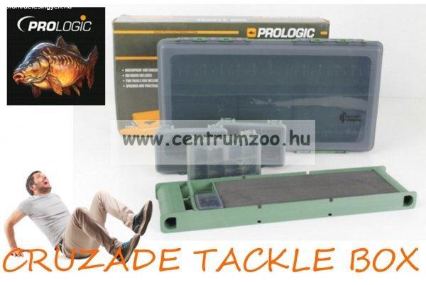 Prologic CRUZADE TACKLE BOX 35,5x19,5x6,5cm doboz szett elők