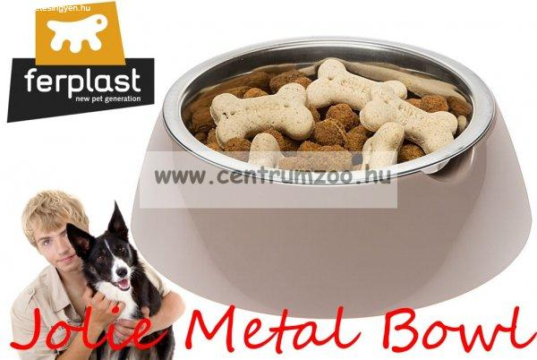 Ferplast Jolie Bowl 0,5l SMALL fém betétes tál (70982021) Be