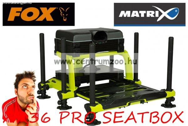 Fox MatrixŽ XR36 PRO LIME Seatbox New Edition versenyláda (G