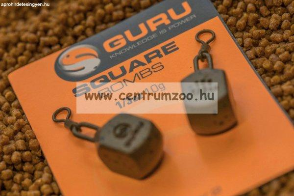 GURU SQUARE PEAR BOMB feeder ólom 1,1OZ 31g (GL03)