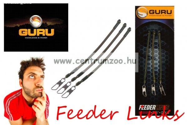 "Guru Feeder Links Small 2"" 3db gubancgátló (GFL01)"