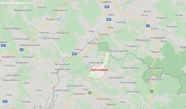 Ipolytarnóc közelében 2,5 Ha erdőterület eladó