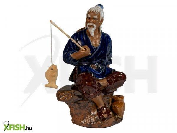 Energofish Kerámia Figura Ülő Horgász 10x8x19 cm