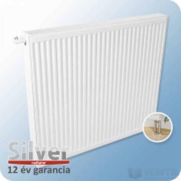 Silver UNI szelepes radiátor 22K 900x1200, jobb-bal forgatha