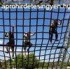 Cross Warrior heveder mászóháló (cargo net) 3mx4m, 25x25cm o
