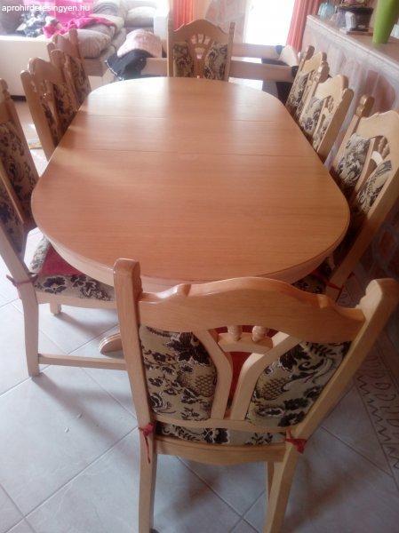 eladó étkező székekkel