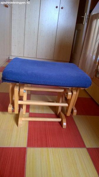 Szoptatós fotel,hintaszék lábtartóval Eladó Használt