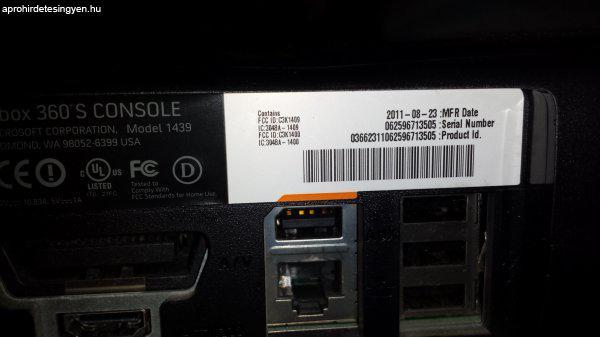 Xbox 360 slim RGH - Eladó Használt - Budapest Apróhirdetés