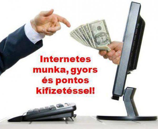 internetes jövedelem dollár